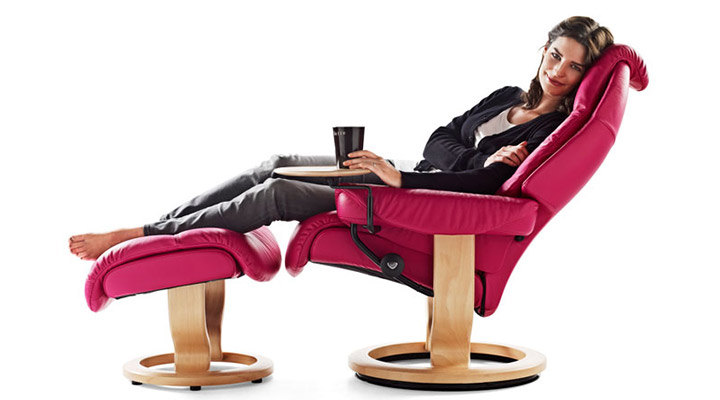 Stressless recliner and furniture products